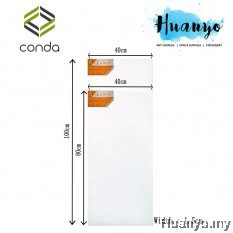 Conda Artist Stretch Rectangular Canvas (40 X 80 CM, 40 X 100CM)
