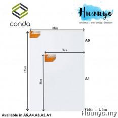 Conda Artist Stretched Canvas (A series: A1 size / 60 x 84cm)