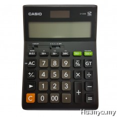 Casio D-120B Tax & Exchange Calculator
