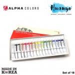Alpha Artists' Water Colour Watercolour 18 Colors Set