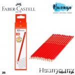 Faber-Castell Hexagonal 2B Pencil (12pcs / Box )