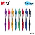 M&G R5 Retractable Gel Pen 0.7MM AGP12371