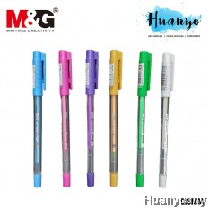 M&G Office G Pastel Colour Gel Pen 0.8mm AG13277