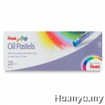 Pentel Arts Oil Pastels 25 Colors
