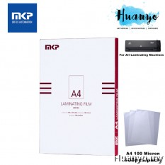MKP Laminate/Laminating Film A4 Paper 100 micron (100pcs/pack)