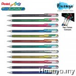 Pentel Hybrid Dual Metallic Glitter Colour Gel Pen 1.0MM (Per Pcs)