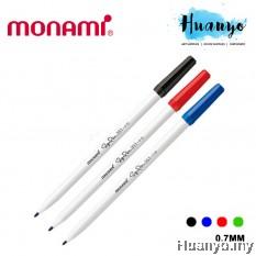 Monami Water Based Fine Liner Sign Pen 351 0.7MM (Black, Blue, Red, Green)