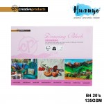 CP Drawing Paper Block B4 135GSM/20 Sheets