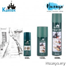 Kuelox Fixative Spray For Sketch, Charcoal, Pastel (50ML/180ML/300ML)