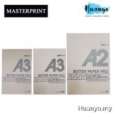 Masterprint Butter Paper Pad (A4 / A3 / A2 Size)