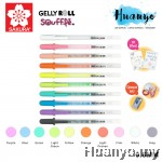Sakura Gelly Roll Souffle 3D Opaque Pastel Colour Gel Pen (Per PCS)