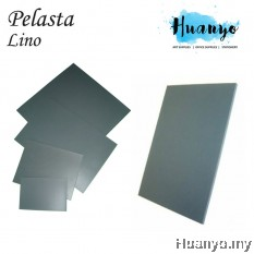 Pelasta Lino Board for Art Carving, Print Making (4MM Thickness, A4 / A3 / Square Size)