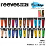Reeves Intro Acrylic Colour Paint 120ML [Per Tube] (List 1/2)