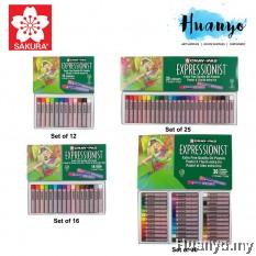 Sakura Cray-Pas Expressionist Extra Fine Quality Oil Pastel Colour (Set of 12/ 16 / 25 / 36 / 50 Color)