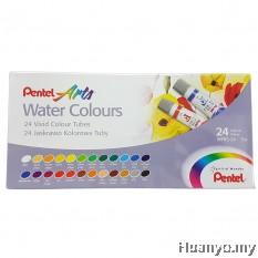 Pentel Water Colours 24 Colours Set