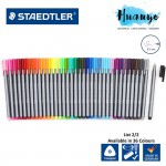 Staedtler Triplus Tri Grip Fineliner 334 Colour Drawing Pen 0.3mm (List 2/2, Per Pcs)