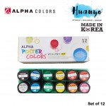 Alpha Poster Colour 15ML Bottle (Per Bottle)