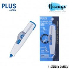 Plus Whiper MR Refillable Correction Tape (Blue - 5MM x 6M)