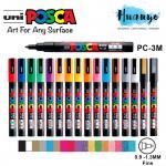 Uni Posca Water-Based Colour Paint Marker PC-3M Bullet Fine Tip (0.9 - 1.3MM)