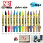 Zig Fabricolor Textile Fabric Marker Pen 2MM Fine Tip (For Light & Dark Fabric) [Per Pcs]
