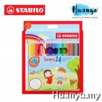 Stabilo Swans Colour Pencil 24L