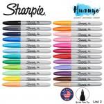 Sharpie Permanent Colour Marker Fine Tip (Per Pcs, List 2/2)