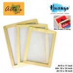 Artos Silk Screen Printing Wooden Frame Block ( A4 - 8 x 11 inch / A4 Plus - 10 x 14 inch / A3 - 12 x 16 inch)