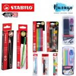 Stabilo Exam Grade 2B Pencil (Black & Colour Series, Set of 12 / 6, Jumbo ,Value Pack & Exam Set)