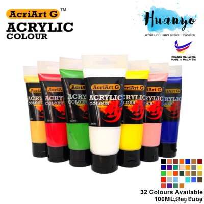 Acriart G Non Toxic Acrylic Colour Paint (100ML / Tube) [List 2/2]
