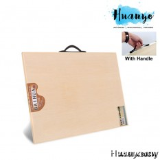 Baihua Wooden Technical Sketching Drafting Drawing Board With Handle (A1 Size - 60 x 90CM)