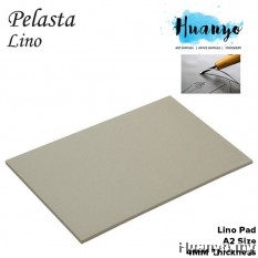 Pelasta Lino Sheet Board for Art Carving, Print Making (4MM Thickness, A2 Size)