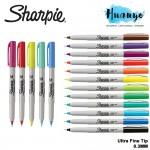 Sharpie Permanent Colour Marker Pen (Ultra Fine Tip, 0.3MM, Per PCS)