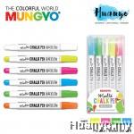 Mungyo Multi Surface Colour Chalk Pen ( Per pcs / Wallet Set of 5)