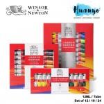 Winsor & Newton Fine Artist Oil Colour Paint Set (Color Set of 12 / 18 / 24, 12ML / Tube)