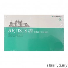 Alpha Artist's Acrylic Colours Set of 12