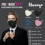 ProXmask 95 V/ 95V 6 Layer Anti Viral Breathable Reusable Washable Fabric 3D Face Mask (Microfiltration (BFE & PFE) | Anti-Microbial | Water Repellent | Up to 60 Washes | Easy to Breathe | Skin Friendly)
