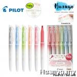 [2021 Limited Edition] Pilot Frixion Light Natural Pastel Color Erasable Highlighter Textliner Pen(Per Pcs / Wallet Set of 6)
