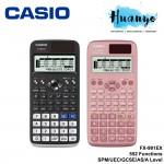 Casio Scientific Calculator FX-991EX (552 Functions, Black / Pink, Solar Power)