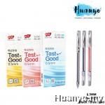 Zhi Xin Test Good Gel Pen 0.5mm Tip G-2501 (Black / Blue / Red) [Per PCS]