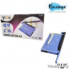 """YIDE Adjustable Metal Paper Cutter Trimmer 12"""" x 10"""" (A4 Size)"""