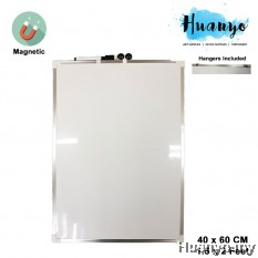 Double Sided Portable Thin Magnetic White Board (40 x 60 cm / 1 1/2 x 2 Feet / 16 x 24 inch)