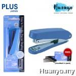 PLUS Office Paper Stapler PS-10E Set (Free Staples No.10 1000pcs)