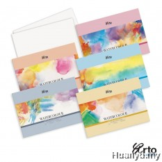 Campap Arto Fabriano Water Colour Paper Pack  A4/A3 - 200 / 300gsm (25% Cotton, Hot/Cold Pressed / Extra Rough)