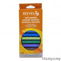 Reeves Soft Pastel 12 Colours Set