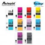 Masterprint A4 Single Line Foolscap Paper Exam Sheets (50 / 70 / 100 / 200 Sheets)(60 / 70 / 80 / 100GSM)[Normal/Narrow Line]