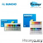 Buncho Water Colour Set of 12 / 18 (6CC Tube)