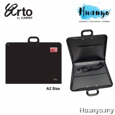 Campap Arto Drawing Drafting Portfolio Zipper Bag A2 size With Shoulder Strap