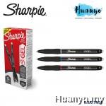 Sharpie S-Gel Retractable Rubber Grip Gel Pen (0.5 / 0.7MM, Black/Blue/Red Ink)