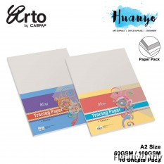 CAMPAP Arto A2 Tracing Paper 60gsm / 100gsm  - 10 Sheet/Pack