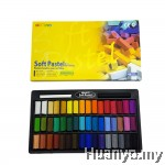 Mungyo Soft Pastel 48 Colours Set (Half Size)